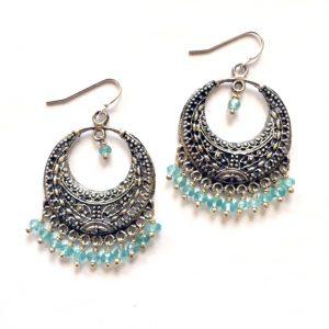 Apatite Chandalier Earrings