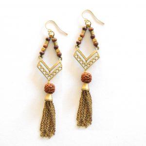 Bohemian Good Luck Earrings