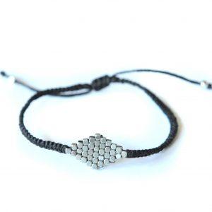 Silver Diamond Bracelet